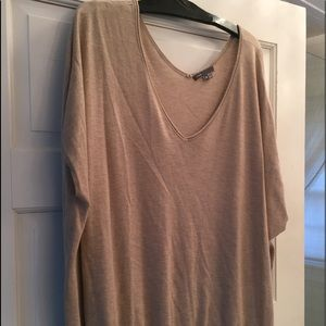 VINCE oversized summer cashmere top